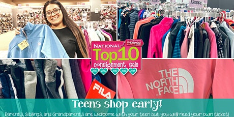 FREE TICKET! Teens shop Kids EveryWEAR Consignment Sale before the Public tickets