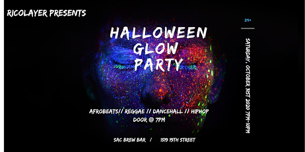 Halloween Party October 19th 2020 Halloween Glow Party Tickets, Sat, Oct 31, 2020 at 7:00 PM