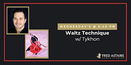 Live-Stream Waltz Technique w/ Tykhon | Wednesday's @ 6:40pm tickets