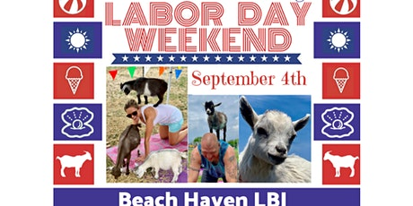Labor Day Beach Goat Yoga LBI: Namaaaste Goat Yoga tickets