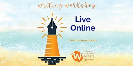 [Online] Creative Writing Workshop - 07/18/2020 tickets