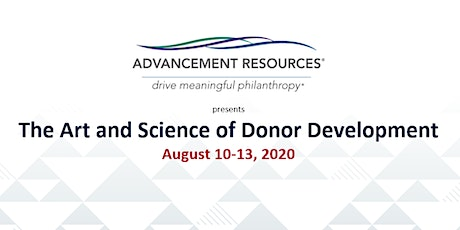 The Art and Science of Donor Development tickets