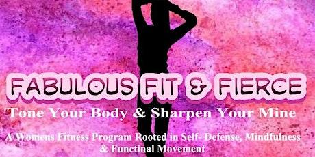 DentBioFit :Fabulous Fit Fierce Women's Fitness/Self Defense tickets