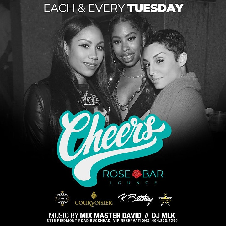 Cheers Tuesdays  @Rose Bar Lounge/Free Entry with RSVP/SOGA Entertainment/4 image