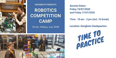 Holiday Robotics Competition Camp tickets