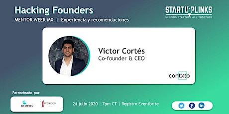 Hacking Founders | Mentor Week boletos