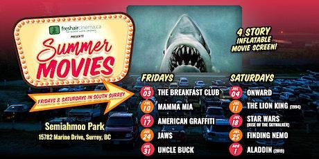 FreshAirCinema presents Finding Nemo (2003) - Jul.25 @ Semiahmoo Park tickets