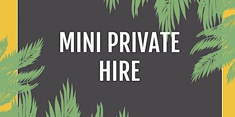 Mini Private Hire tickets