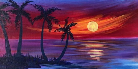 Magical Paint and Sip Class 'Paradise Island'!!! tickets