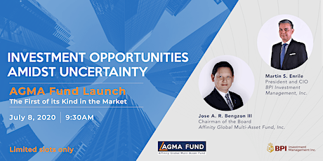 Investment Opportunities Amidst Uncertainty: AGMA Fund Launch tickets