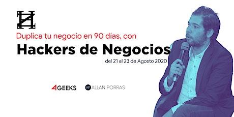 Hackers de Negocios (por 4Geeks) boletos