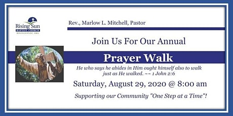 Rising Sun Baptist Church Prayer Walk tickets