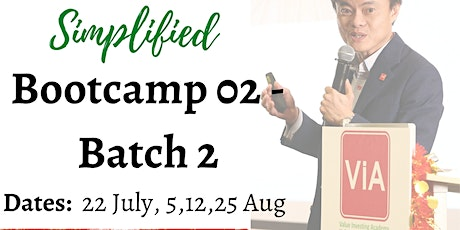 Value Investing Simplified Bootcamp 02 - Batch 02 tickets