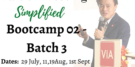 Value Investing Simplified Bootcamp 02 -Batch 03 tickets