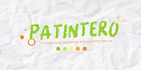 PATINTERO: A Virtual Cupsleeves Event for Park & Zhong tickets