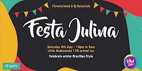Festa Julina tickets