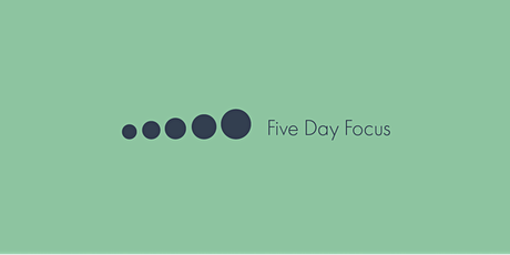 Five Day Focus - Routines creëren tickets