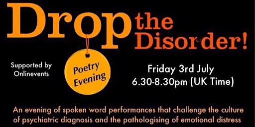 Drop the Disorder Poetry Evening