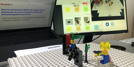 Wie funktioniert LEGO SERIOUS PLAY online? Workshop am echten Beispiel Tickets