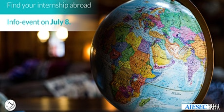 Info evening: Find your internship abroad | with aiesec billets