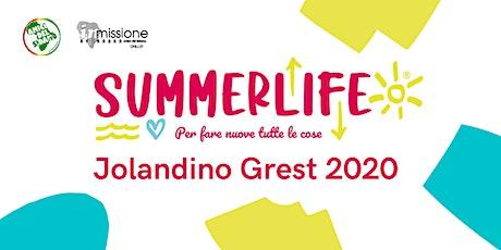 PREISCRIZIONE SETTIMANA 5 - Jolandino Grest 2020 biglietti