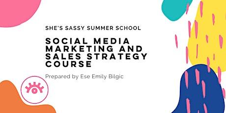 She's Sassy Summer School for Social Media tickets