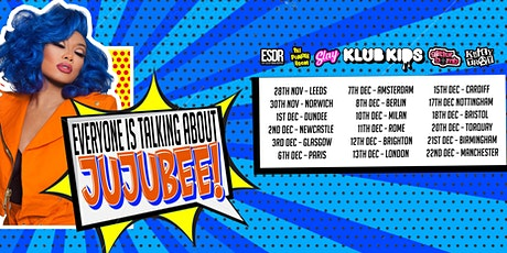 Klub Kids Leeds Presents JUJUBEE (ages 18+) tickets