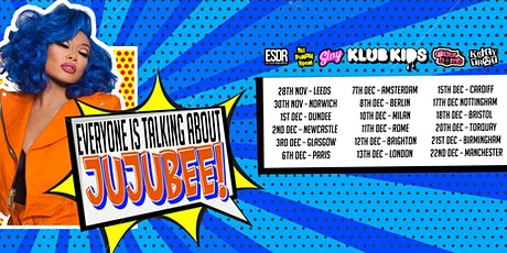 Klub Kids Newcastle Presents JUJUBEE (ages 18+) tickets