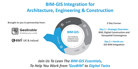 BIM-GIS Integration for Architecture, Engineering & Construction tickets