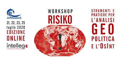 Summer school online RISIKO!Strumenti e pratiche per l'analisi geopolitica biglietti