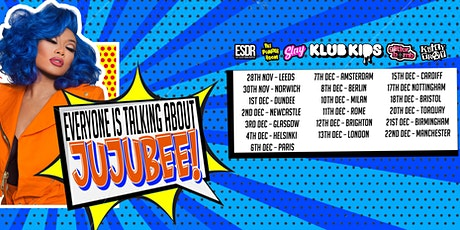 Klub Kids Torquay Presents JUJUBEE (ages 14+) tickets