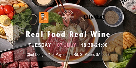 Real Food Real Wine Vol. 8 - Chef Dong Restaurant tickets