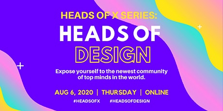 Heads Of X Series: Heads of Design Conference tickets