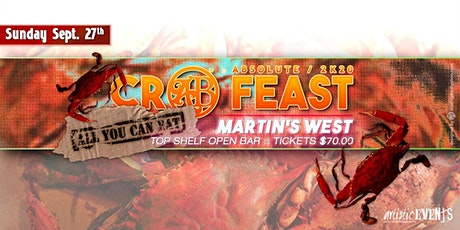 Absolute Crab Feast 2K20 tickets