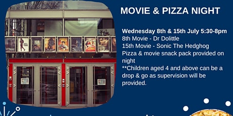 Movie & Pizza Night tickets