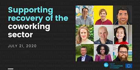 How to support the recovery of the coworking  sector? A virtual summit. tickets