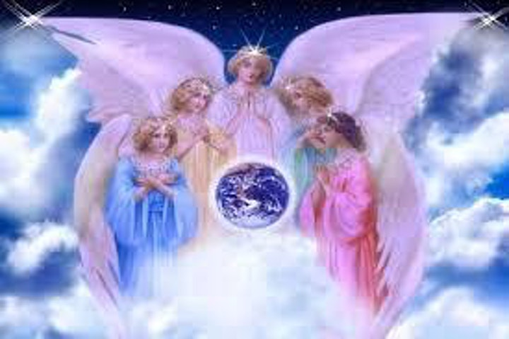 Connecting with Angels to Manifest a New Vision Board image