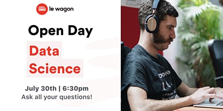 [Online] Open Day - Discover our Data Science Bootcamp tickets