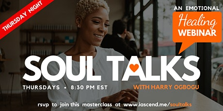 SOUL TALKS - An Online Healing Webinar (NY) tickets