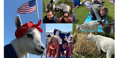 Goat Yoga on the Farm: Namaaaste Goat Yoga tickets