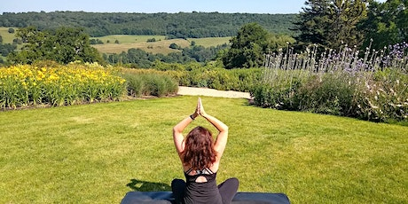 Rest, relax, restore - outdoor yoga in the gardens tickets