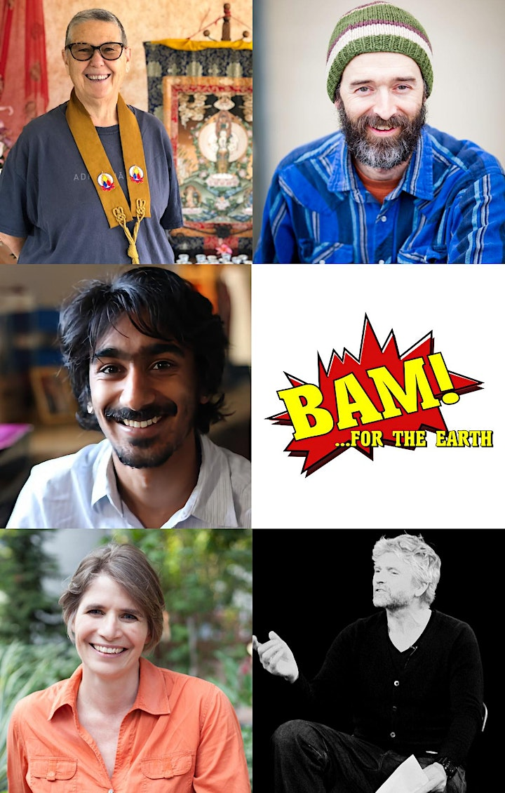 For the Earth: BAM! 2020 (Buddhist Action Month, Live Talks with Q & A) image