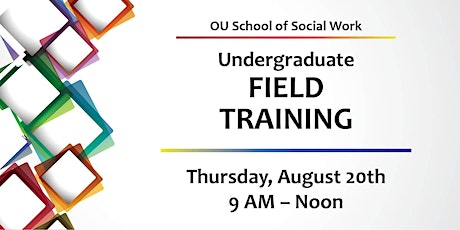 2020 BASW Field Training - Thursday, August 20th tickets