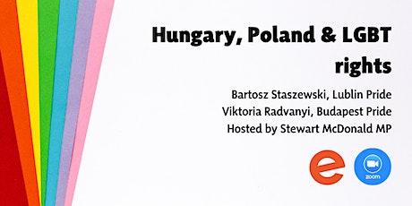 Hungary, Poland and LGBT Rights bilhetes