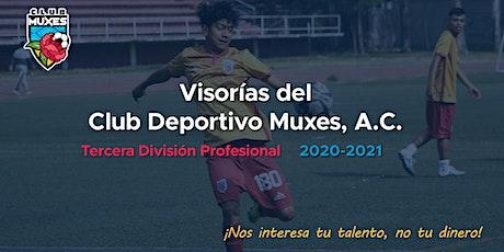 Visorías Club Deportivo Muxes A.C. tickets