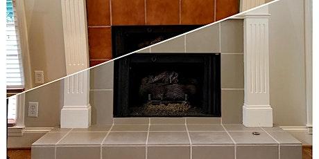 Update your tile backspash or fireplace tickets