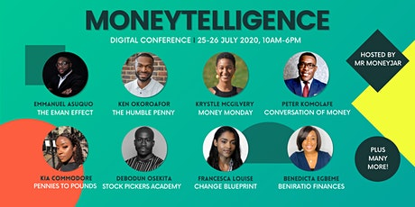 Moneytelligence: Digital Conference tickets