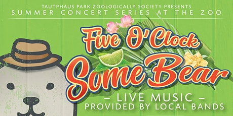 Five O'Clock Some Bear at the Idaho Falls Zoo Concert Series tickets