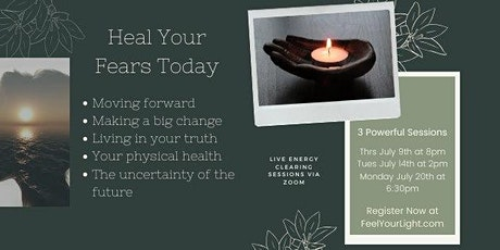 Heal Your Fears tickets