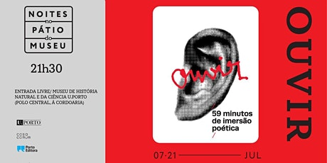 Andreia C. Faria: Ouvir. 59 minutos de imersão poética bilhetes